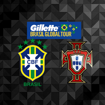 Gillette Brazil vs. Portugal International Friendly Preview