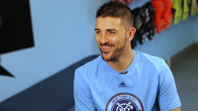 NYCFC Roster Squad David Villa
