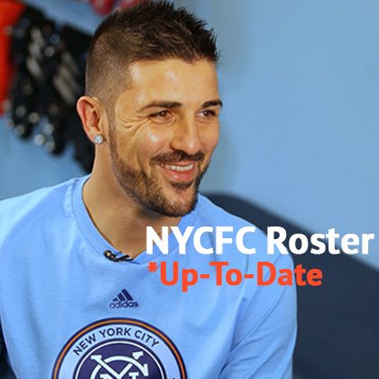 New York City FC Roster - NYCFC Squad Players & Transfers