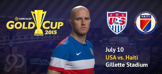 2015 CONCACAF Gold Cup USA vs. Haiti