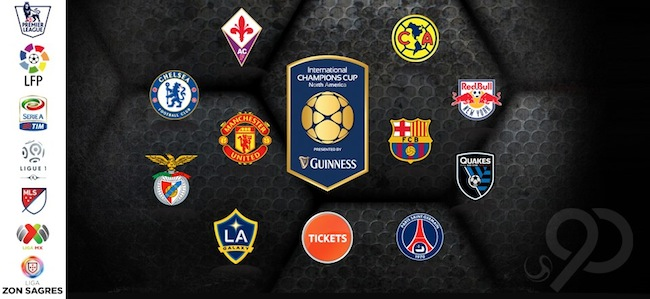 International Champions Cup ICC 2015