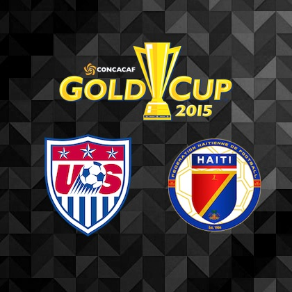 2015 CONCACAF Gold Cup - USA vs. Haiti Preview