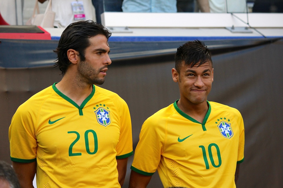 Kaka Neymar Brazil National Team