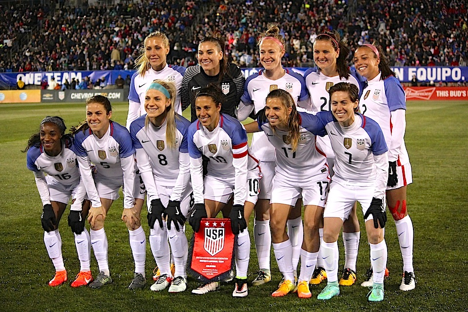 2016 USWNT Team Photo