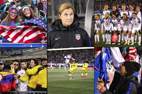 USWNT vs. Colombia Photo Gallery